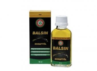 Pažbový olej Ballistol Balsin 50 ml, světle hnědý
