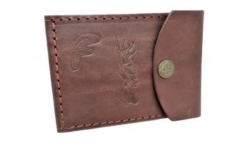 Kožená peněženka dolarka - jelen