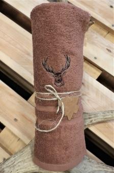 Myslivecká osuška jelen - hnědá
