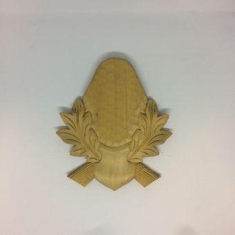 Podložka pod trofej - srnčí č. 3 21x17 cm