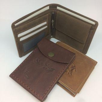 Výroba kožených peněženek na zakázku