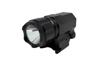 Taktická LED svítilna na pistoli