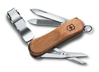 Victorinox Nail Clip Wood 580